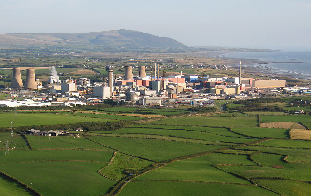 Aerial view Sellafield Cumbria - geograph.org.uk - 50827